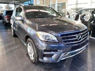 Used 2015 Mercedes-Benz ML-Class ML350 BlueTEC 4MATIC AWD, SUNROOF/MOONROOF, NAVI, POWER HEATED LEATHER SEATS for sale in Edmonton, AB