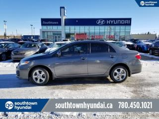 Used 2012 Toyota Corolla LE/BACKUP CAM/BLUETOOTH/HEATED SEATS/CRUISE CONTROL for sale in Edmonton, AB