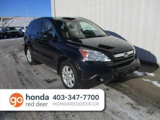 Used 2009 Honda CR-V EX-L 4WD Sunroof Remote Start for sale in Red Deer, AB