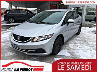 Used 2015 Honda Civic LX , UN SEUL PROPRIO for sale in Île-Perrot, QC