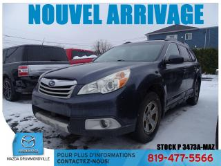 Used 2011 Subaru Outback 2.5I AWD TOITOUV SIÈGCHAUF BLUETOOTH  for sale in Drummondville, QC