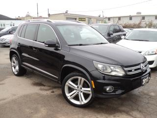 Used 2013 Volkswagen Tiguan Highline,R- LINE NAVI,LEATHER,CAMERA,PANORAMIC ROO for sale in Oakville, ON
