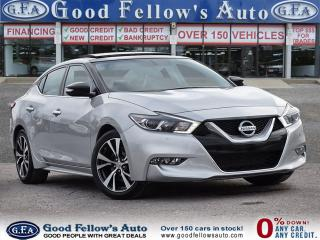 Used 2016 Nissan Maxima SL MODEL, 6CYL 3.5L, POWER SEATS, LEATHER SEATS for sale in Toronto, ON