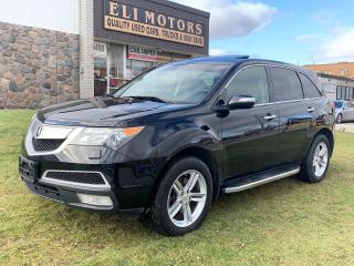 Used 2011 Acura MDX TECH PKG  NAVI  REAR CAMERA TV-DVD BLUETOOTH for sale in North York, ON