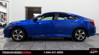 Used 2019 Honda Civic LX + BLUETOOTH + CAMERA DE RECUL + BAS K for sale in Trois-Rivières, QC