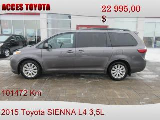 Used 2015 Toyota Sienna LE AWD 7-Passenger V6 for sale in Rouyn-Noranda, QC