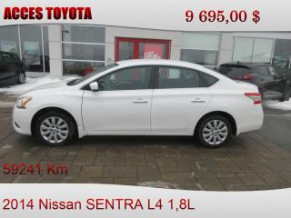Used 2014 Nissan Sentra TRES BAS KM for sale in Rouyn-Noranda, QC