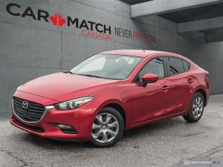 Used 2017 Mazda MAZDA3 GX / *AUTO* / AC / 112080 KM for sale in Cambridge, ON