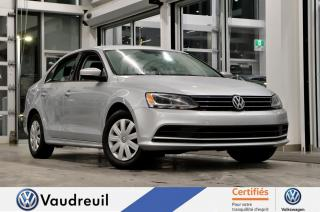 Used 2015 Volkswagen Jetta Trendline+ * A/C * CAM RECUL * for sale in Vaudreuil-Dorion, QC