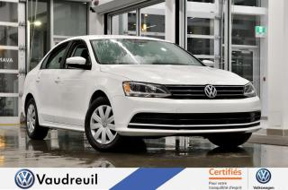 Used 2016 Volkswagen Jetta 1.4 TSI Trendline * CAM RECUL * BANCS CH for sale in Vaudreuil-Dorion, QC