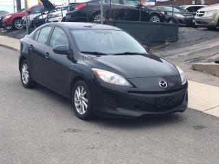 Used 2013 Mazda MAZDA3 GX AUTOMATIC BLUETOOTH CERTIFIED for sale in Toronto, ON