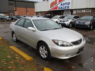 Used 2005 Toyota Camry SE ~ LOW KM ~ SAFETY INCLUDED for sale in Toronto, ON