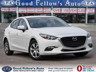 Used 2018 Mazda MAZDA3 GX MODEL, 2.0L 4CYL, REARVIEW CAMERA, SKYACTIV for sale in Toronto, ON
