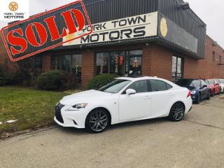 Used 2016 Lexus IS 350 F-Sport/AWD/RedInt/Nav/MoonRf/RCam/H.Seats/NoAcc for sale in North York, ON