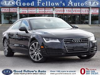 Used 2014 Audi A7 3.0L SUPERCHARGED V6, TECHNIK PKG, SUNROOF, NAVI for sale in Toronto, ON
