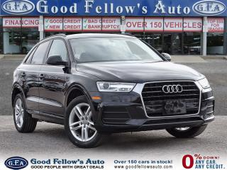 Used 2016 Audi Q3 TECHNIK PKG, LEATHER SEATS, POWER SEATS, SUNROOF for sale in Toronto, ON