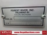 2016 Forest River PALOMINO BACKPACK HS 2902 TRUCK CAMPER