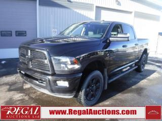 Used 2017 RAM 3500 SLT 4D CREW CAB SWB 4WD 6.7L for sale in Calgary, AB