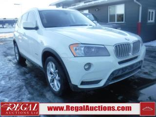 Used 2013 BMW X3 XDRIVE28I 4D Utility AWD for sale in Calgary, AB