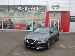 Used 2019 Nissan Maxima Platinum LEATHER,NAVIGATION, PANORAMIC SUNROOF for sale in Belleville, ON
