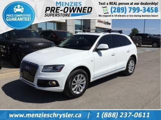Used 2014 Audi Q5 2.0L Progressiv, Navi, Pano Roof, Leather for sale in Whitby, ON