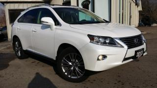Used 2013 Lexus RX 350 AWD - LEATHER! NAVIGATION! BACK-UP CAM! ACCIDENT FREE! for sale in Kitchener, ON