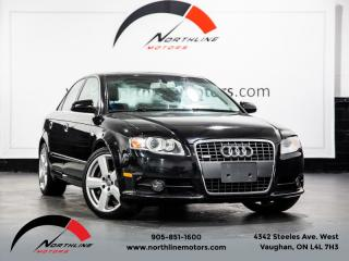 Used 2008 Audi A4 2.0T Quattro|S-Line|6-Speed Manual|Heated Leather|BOSE|Roof for sale in Vaughan, ON