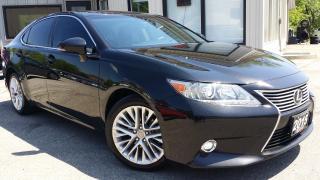 Used 2015 Lexus ES 350 Sedan - LEATHER! NAV! BACK-UP CAM! BSM! for sale in Kitchener, ON