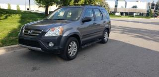 Used 2006 Honda CR-V 4WD SE | 5 Spd | Accident-Free | Winter Wheels | Roof Rack for sale in Concord, ON