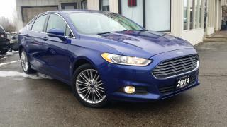 Used 2014 Ford Fusion SE-AWD - LEATHER! NAV! BACK-UP CAM! 2L! for sale in Kitchener, ON