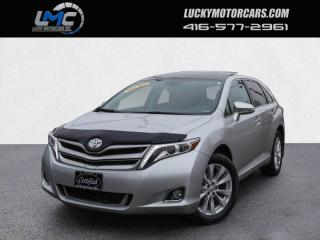 Used 2014 Toyota Venza LIMITED AWD-PANOROOF-LEATHER-BACKUP CAMERA-4CYL-ONLY 90KMS for sale in Toronto, ON