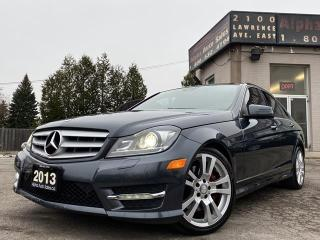 Used 2013 Mercedes-Benz C-Class C350 4MATIC for sale in Scarborough, ON