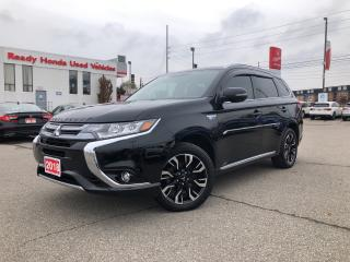 Used 2018 Mitsubishi Outlander Phev SE TOURING -AWC - Leather - Sunroof for sale in Mississauga, ON
