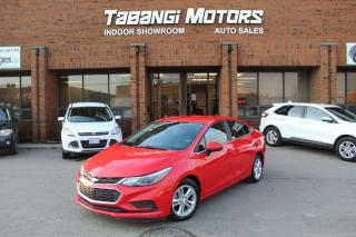 Used 2016 Chevrolet Cruze NO ACCIDENTS I BIG SCREEN I REAR CAM I HEATED SEATS I BT for sale in Mississauga, ON