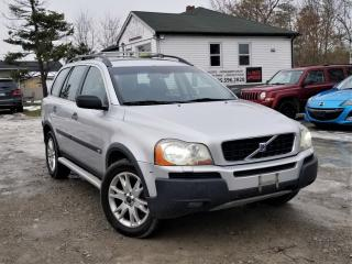 Used 2004 Volvo XC90 No Accidents Sunroof 7 Seats T6 Leather Power Heated Seats for sale in Sutton, ON
