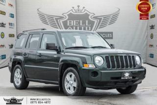 Used 2010 Jeep Patriot North, TRACTION CNTRL, PWR MIRRORS, CLIMATE CNTRL for sale in Toronto, ON