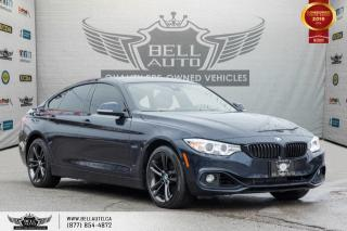 Used 2016 BMW 4 Series 428i xDrive, GRAN COUPE, AWD, NAVI, REAR CAM, HEADS-UP, B.SPOT for sale in Toronto, ON