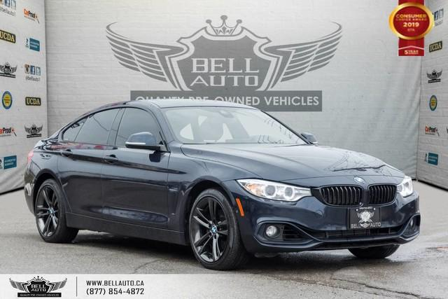 2016 BMW 4 Series 428i xDrive, GRAN COUPE, AWD, NAVI, REAR CAM, HEADS-UP, B.SPOT