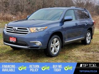 Used 2013 Toyota Highlander V6 ** AWD, 7 Passenger, Leather ** for sale in Bowmanville, ON