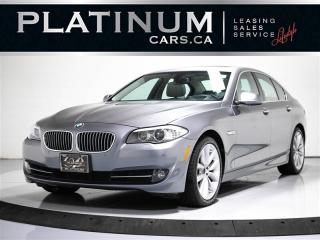 Used 2013 BMW 5 Series 535i X-DRIVE 300 HP, NAV, SUNROOF, REAR CAM for sale in Toronto, ON