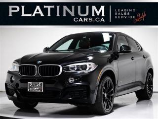 Used 2017 BMW X6 xDrive35i, M-SPORT, Exec PKG, NAV, Driving Assist for sale in Toronto, ON