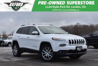 Used 2017 Jeep Cherokee Limited - Low Kms, Roof Rack, GPS for sale in London, ON