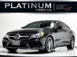 Used 2014 Mercedes-Benz E-Class E350 4MATIC AWD, 3.5L V6, 302HP, AMG PKG, PANO for sale in Toronto, ON