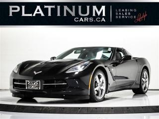 Used 2014 Chevrolet Corvette 2LT, TARGA, NAV, Heads UP DISPLAY, Camera for sale in Toronto, ON