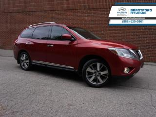 Used 2013 Nissan Pathfinder for sale in Brantford, ON
