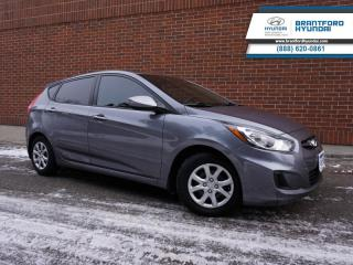 Used 2013 Hyundai Accent GL  - One owner - Local - Trade-in - $83 B/W for sale in Brantford, ON