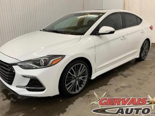 Used 2018 Hyundai Elantra Sport 1.6T Turbo Cuir Toit Ouvrant MAGS *201 Hp* for sale in Trois-Rivières, QC