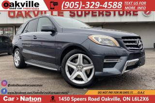 Used 2015 Mercedes-Benz ML-Class 4MATIC | NAVI | PANO | AMG PKG | 360 CAM | LOW KMS for sale in Oakville, ON