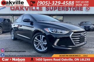 Used 2017 Hyundai Elantra GLS | HTD SEATS | CARPLAY | B/U CAM | BLIND SPOT for sale in Oakville, ON
