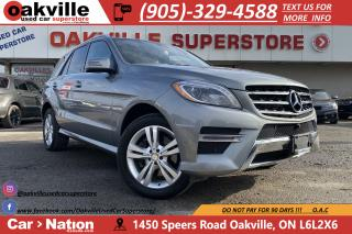 Used 2015 Mercedes-Benz ML-Class ML 350 BlueTEC | NAVI | PANO | 360 CAM | OPEN PORE for sale in Oakville, ON